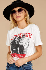 11 Run-DMC Kings From Queens Weekend White Tee at reddressboutique.com