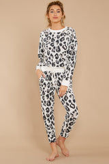 5 The Magnet Amur Leopard Jogger Pant at reddressboutique.com