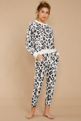 7 The Magnet Amur Leopard Jogger Pant at reddressboutique.com