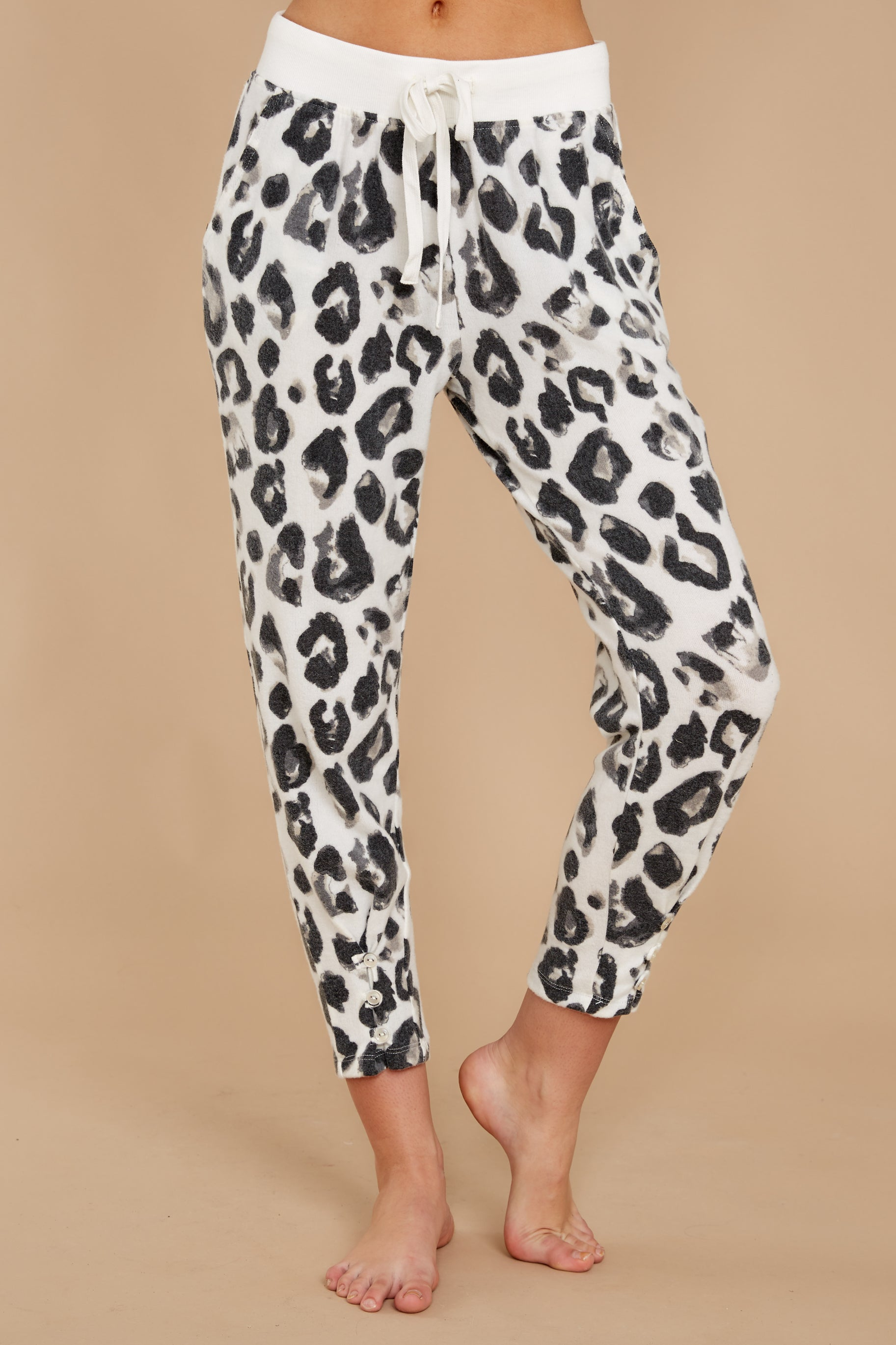 3 The Magnet Amur Leopard Jogger Pant at reddressboutique.com