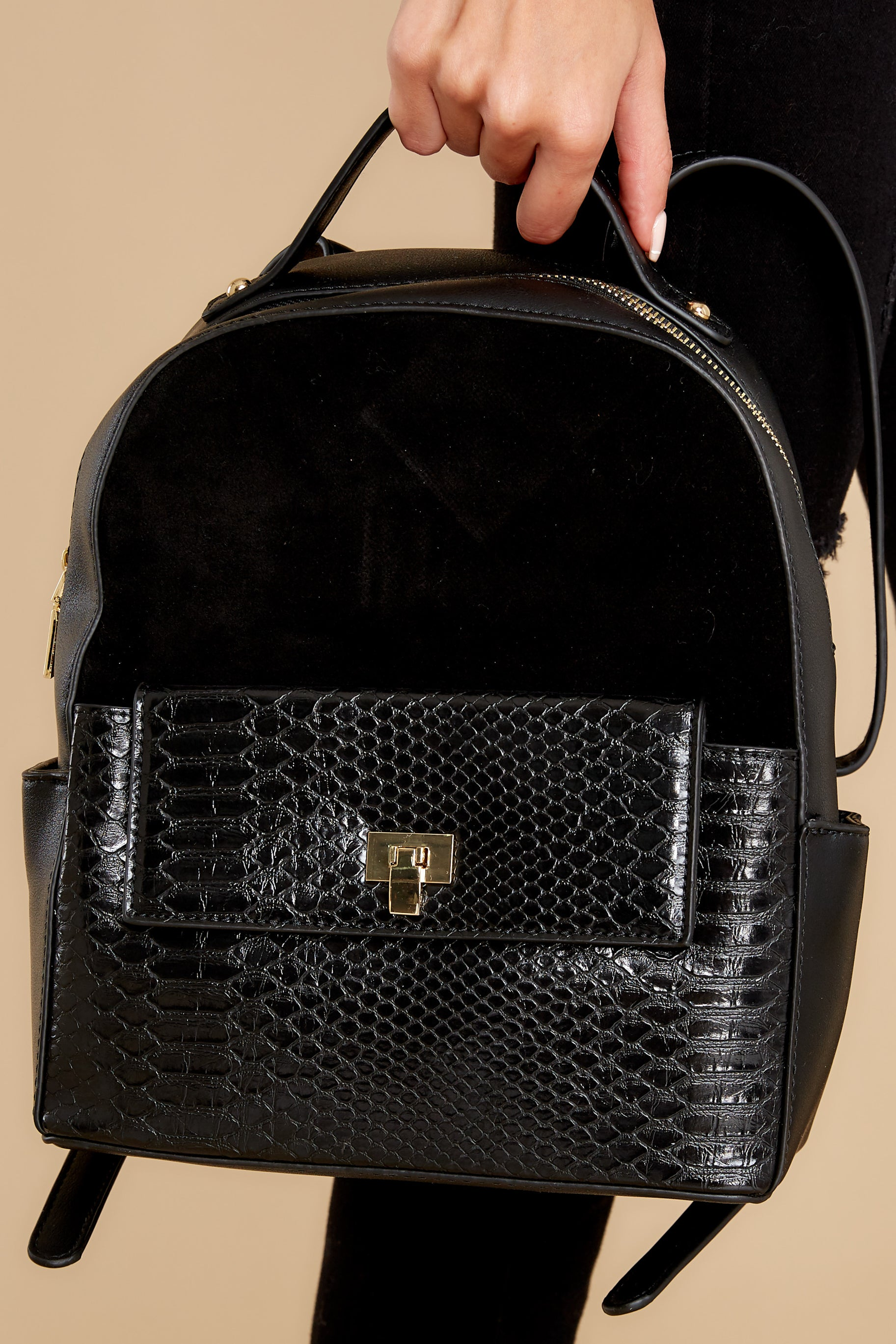 1 Party Out Back Black Backpack at reddress.com