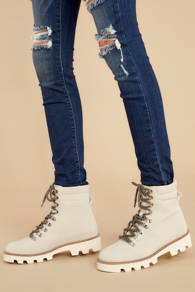 1 Your Every Whim Dark Wash Distressed Skinny Jeans at reddress.com