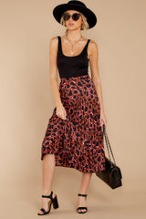 7 Must Have It Pink Multi Leopard Print Midi Skirt at reddressboutique.com