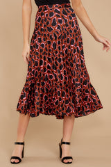 2 Must Have It Pink Multi Leopard Print Midi Skirt at reddressboutique.com
