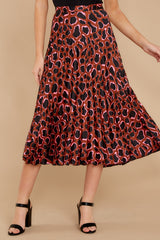 3 Must Have It Pink Multi Leopard Print Midi Skirt at reddressboutique.com