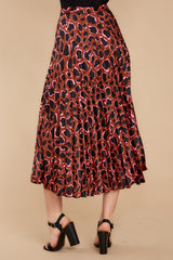 4 Must Have It Pink Multi Leopard Print Midi Skirt at reddressboutique.com