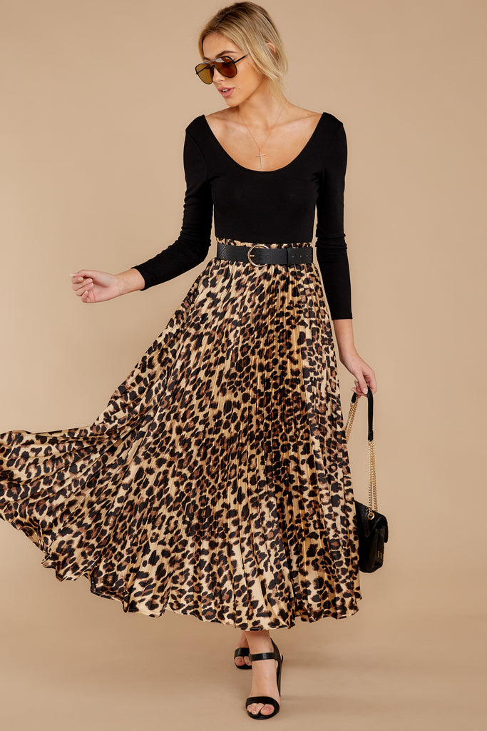 1 Must Have It Pink Multi Leopard Print Midi Skirt at reddressboutique.com
