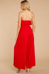 6 Choose Your Destiny Red Jumpsuit at reddressboutique.com