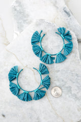 3 How About It Turquoise Earrings at reddressboutique.com