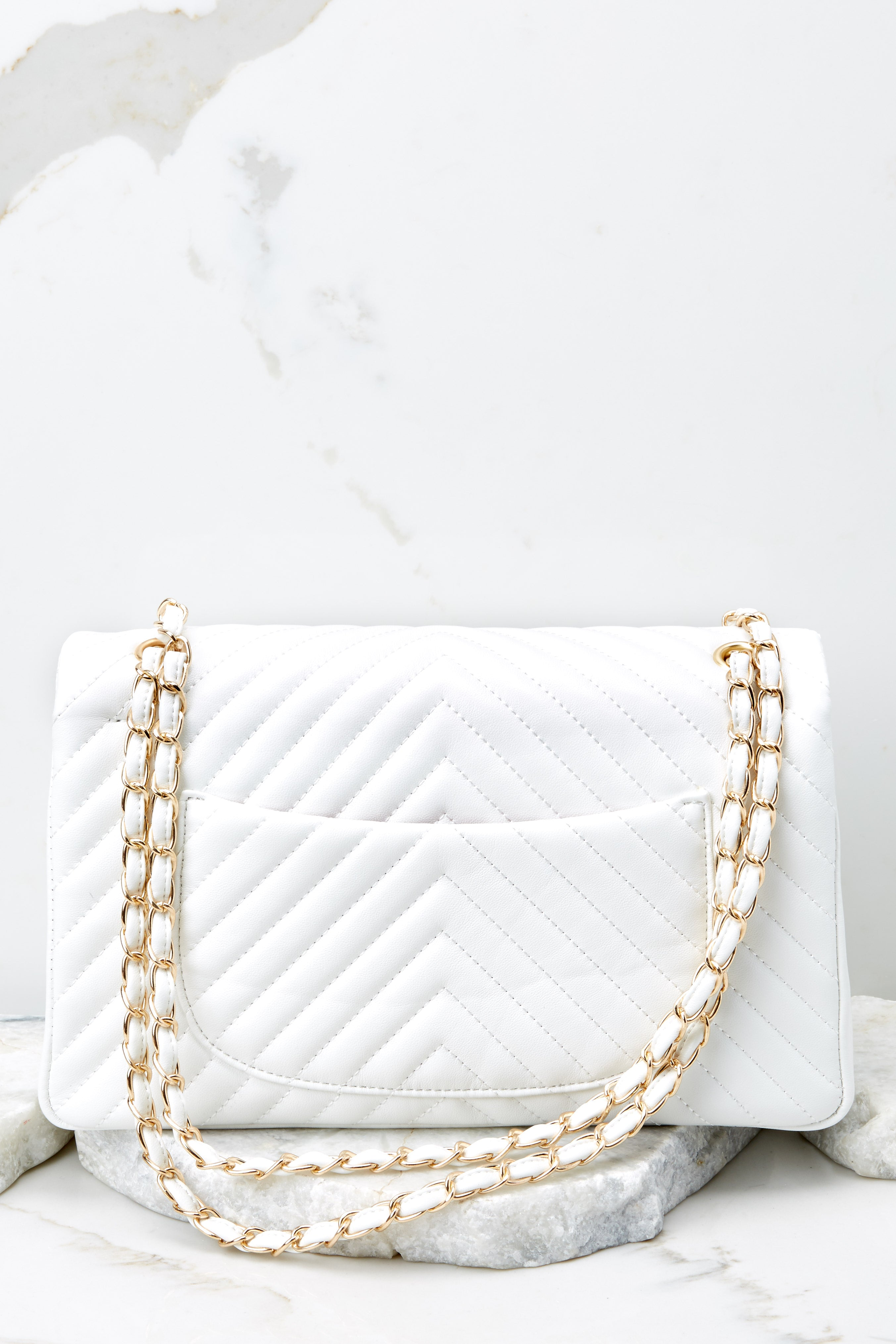 6 Polished And Poised White Bag at reddress.com