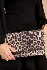 This Wild Life Light Leopard Clutch