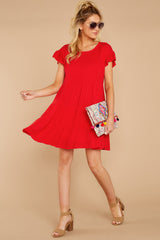 3 Shifting Plans Red Dress at reddressboutique.com