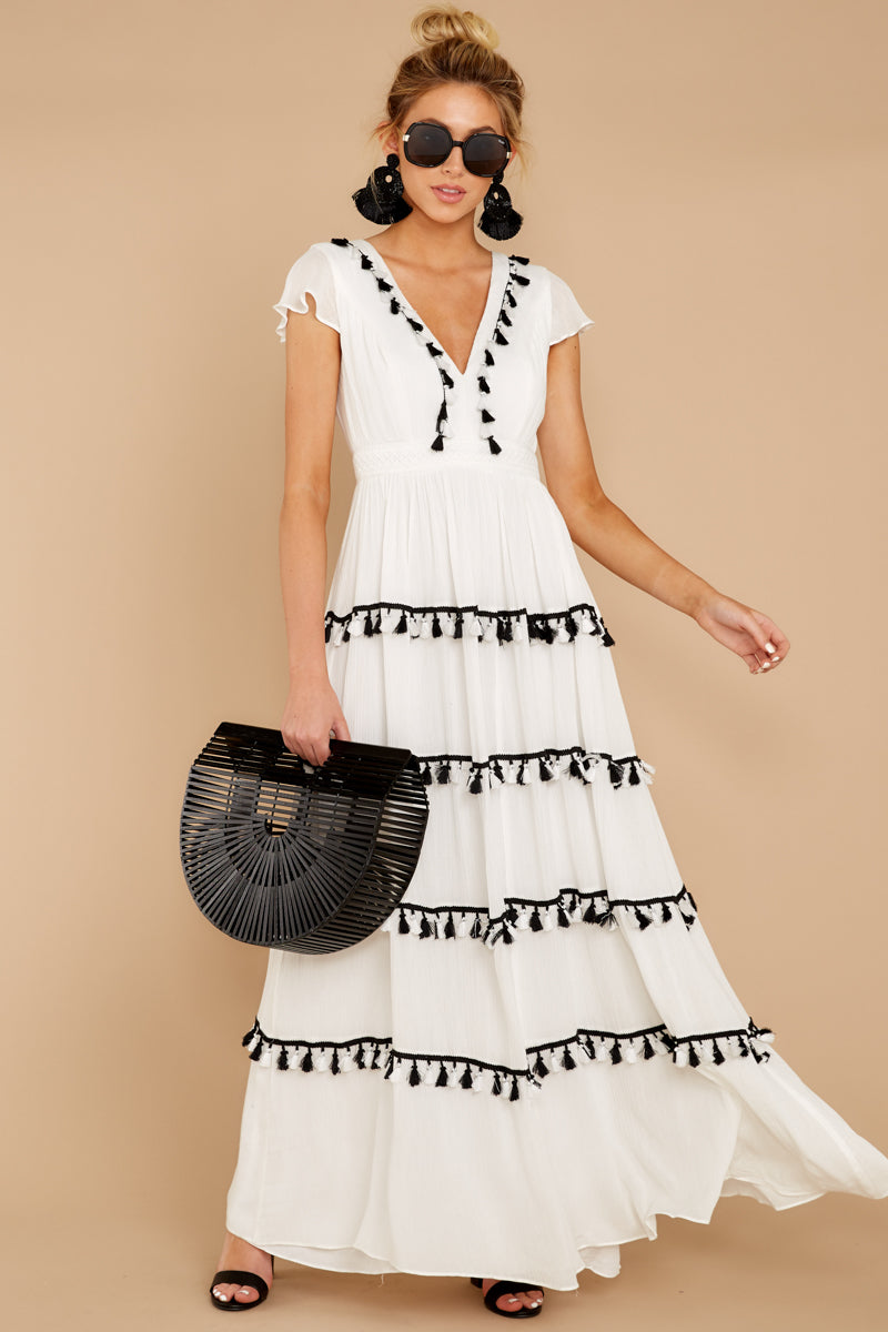 2 Happy To Be Here White Maxi Dress at reddressboutique.com
