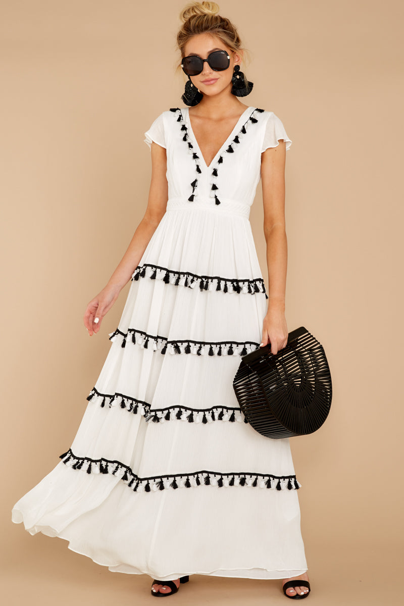 1 Happy To Be Here White Maxi Dress at reddressboutique.com