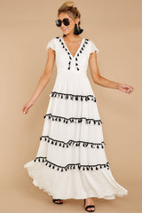 5 Happy To Be Here White Maxi Dress at reddressboutique.com