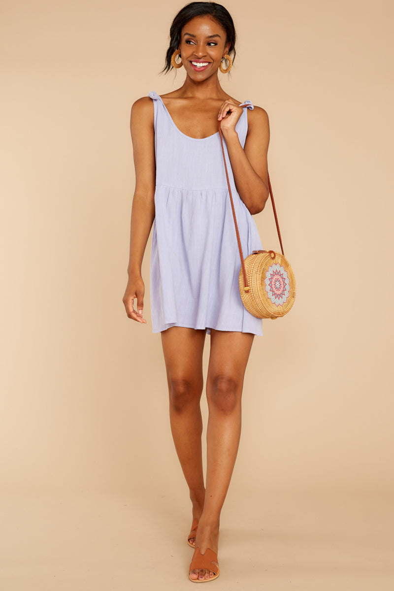 3 Castaway To Somewhere Pastel Purple Dress at reddressboutique.com