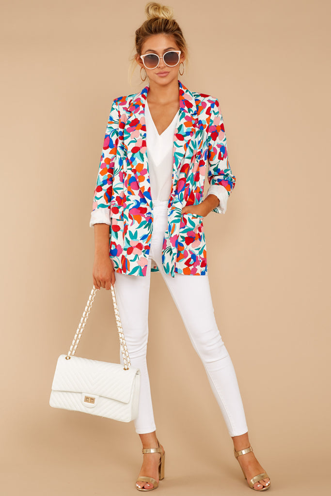 1 Now Introducing Blue Velour Blazer at reddress.com
