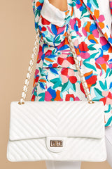 8 Polished And Poised White Bag at reddress.com