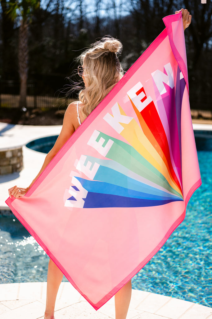 1 Weekend Quick Dry Beach Towel at reddress.com