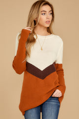 7 Remember Tomorrow Ivory Multi Sweater at reddressboutique.com