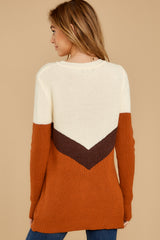 9 Remember Tomorrow Ivory Multi Sweater at reddressboutique.com