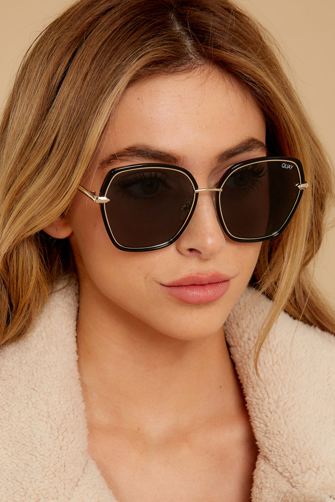 1 Needing Fame Brown Sunglasses at reddressboutique.com