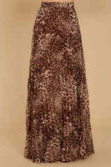 3 Now Trending Leopard Print Midi Skirt at reddressboutique.com