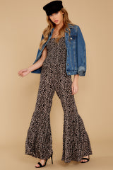1 It's All Around You Leopard Print Jumpsuit at reddressboutique.com