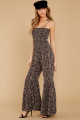 7 It's All Around You Leopard Print Jumpsuit at reddressboutique.com