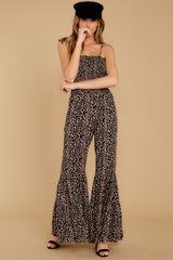 4 It's All Around You Leopard Print Jumpsuit at reddressboutique.com