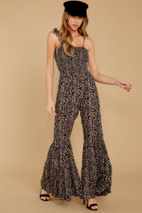 5 It's All Around You Leopard Print Jumpsuit at reddressboutique.com