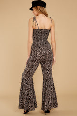 8 It's All Around You Leopard Print Jumpsuit at reddressboutique.com