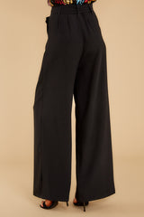 4 In Her Stride Black Pants at reddressboutique.com