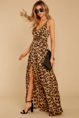 3 She's Dangerous Leopard Print Jumpsuit at reddressboutique.com