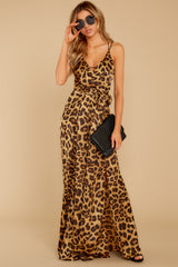 5 She's Dangerous Leopard Print Jumpsuit at reddressboutique.com