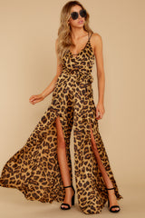 6 She's Dangerous Leopard Print Jumpsuit at reddressboutique.com