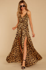 1 She's Dangerous Leopard Print Jumpsuit at reddressboutique.com
