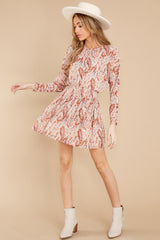 4 Woodstock Multi Paisley Mini Dress at reddress.com