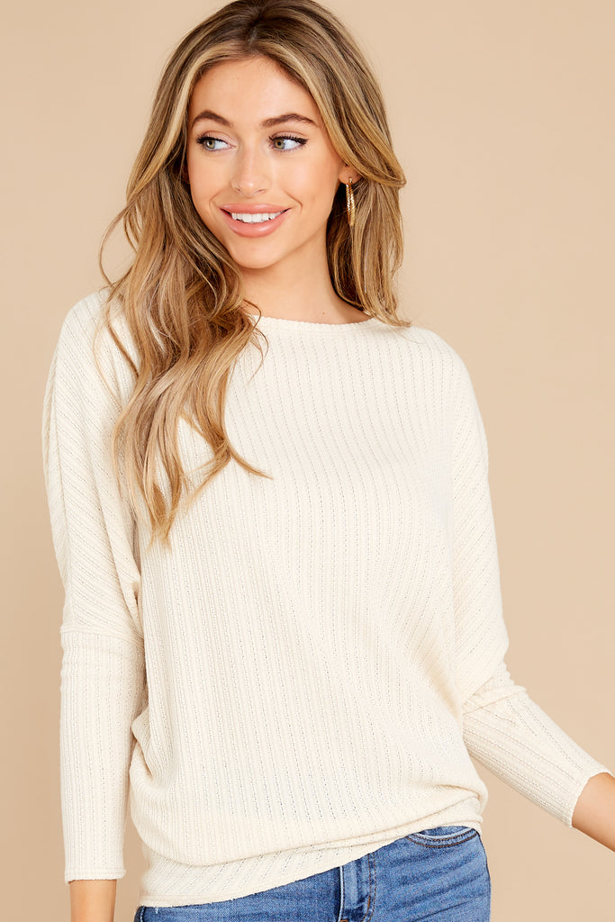 1 Uptown Style White Sweater at reddress.com