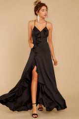4 More To Come Black Maxi Dress at reddressboutique.com