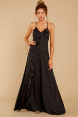 5 More To Come Black Maxi Dress at reddressboutique.com