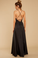 8 More To Come Black Maxi Dress at reddressboutique.com