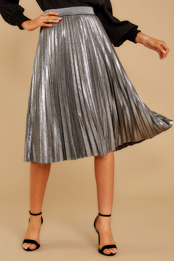1 Why Don't We Wine Midi Skirt at reddressboutique.com