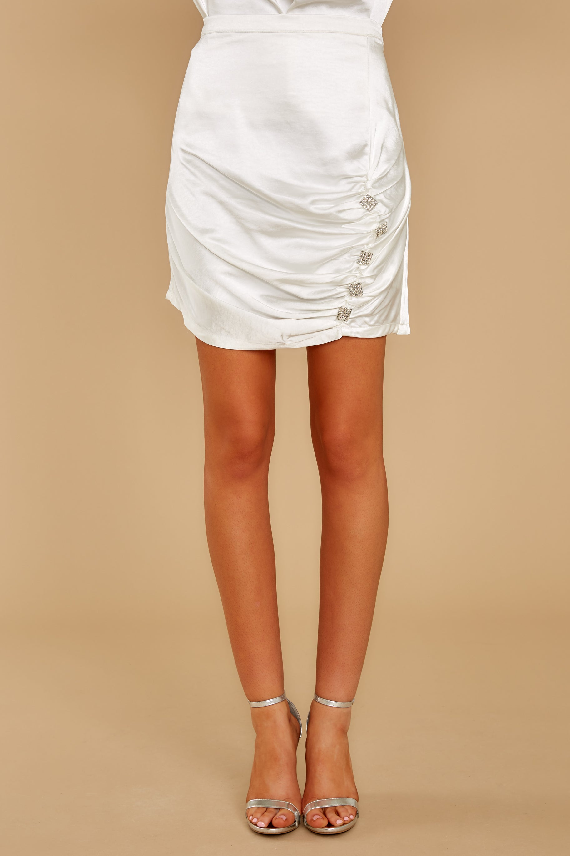 2 Touch Of Fancy White Skirt at reddress.com