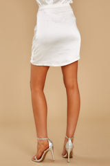 3 Touch Of Fancy White Skirt at reddress.com