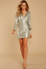 2 Pardon Me Gold Dress at reddressboutique.com