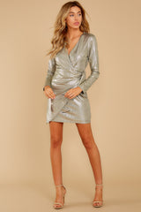 3 Pardon Me Gold Dress at reddressboutique.com