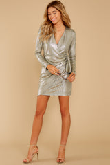 4 Pardon Me Gold Dress at reddressboutique.com