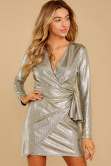 7 Pardon Me Gold Dress at reddressboutique.com