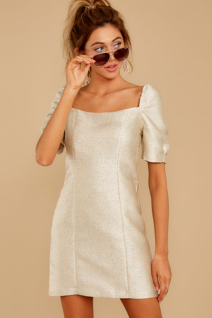 1 Exceptional You White Dress at reddressboutique.com